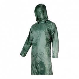 Pelerina ploaie cu nasturi si fermoar / verde - 2xl
