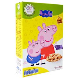 Peppa Pig Honey Rings 375 gr. Cereale Integrale cu Miere