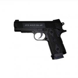 Pistol Air Soft C9 Full Metal Diablo +200 de bile