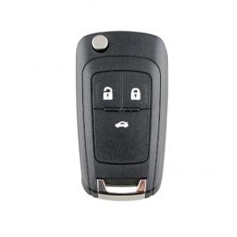 Cheie completa tip briceag, cu chip si telecomanda, Opel, 3 butoane, 433 Mhz PCF7946 chip, lama HU100
