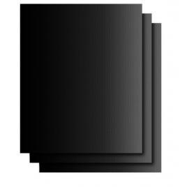 Folie antiaderenta din teflon pentru gratar, BBQ Grill Matt, negru