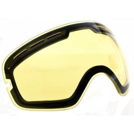Lentile de schimb pentru ochelari de ski, galbene, UV400, antiaburire