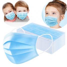 Masca Medicala de Protectie pentru copii – Set 50 Buc.