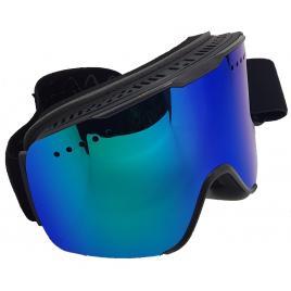 Ochelari ski/snowboard, lentila sferica dubla, magnetica, polarizata, plus lentila pentru nocturna