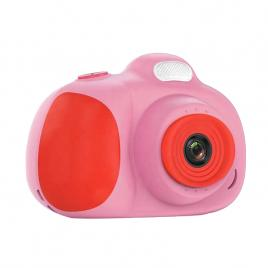 Camera foto, video Full HD, telefon, GPS Traker, Bluetooth, SOS, pentru copii, roz