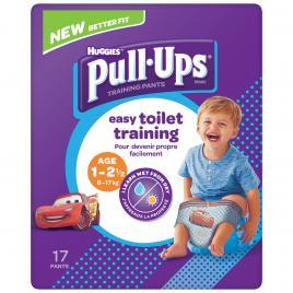 Scutece chilotel Huggies Pull-Ups, Boy, 8-17 kg, 17 buc