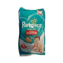 Scutece-chilotel Pampers Baby-Dry Nappy Pants Marimea 4, 9-15kg, 72 scutece