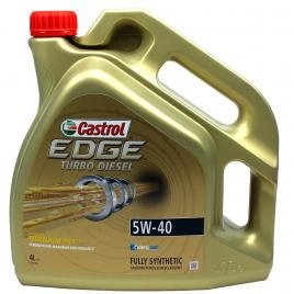 Ulei  castrol edge 5w40 titanium turbo diesel 4 litri kft auto