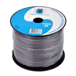 Cablu difuzor cca 2x0.50mm negru 100m