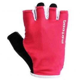 Manusi antrenament dama, Meteor Grip X-40, marimea L, rosu / negru