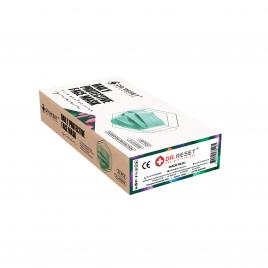 Set 20 bucati Masti faciale protectie, de unica folosinta, nesterile,Verde