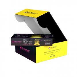Set 80 bucati Masti faciale protectie, de unica folosinta,nesterile Gaming,Slim Box