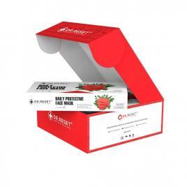 Set 80 bucati Masti faciale protectie, de unica folosinta,nesterile Rosi,Slim Box