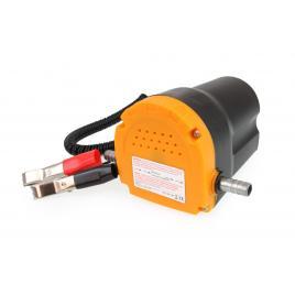 Pompa electrica transfer ulei si motorina, 12v, 4l/min, 60w, cu clesti tip crocodil si furtun