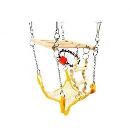 Ansamblu de joaca pentru rozatoare mici trixie, 17 x 22 cm portocaliu
