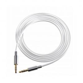 Cablu audio stereo cu conector jack 3.5 mm, 1500 mm, alb