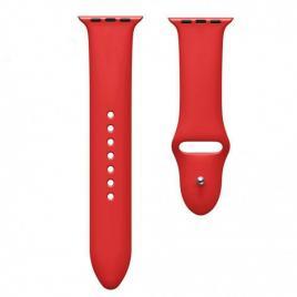 Curea compatibila apple watch 1/2/3/4, silicon, 38/40mm rosu