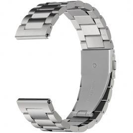 Curea metalica compatibila gear s3 argintiu 38/40 mm