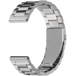 Curea metalica compatibila gear s3 argintiu 42/44 mm