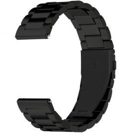 Curea metalica compatibila gear s3 negru 42/44 mm