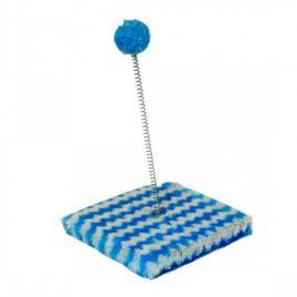 Jucarie interactiva pentru pisici, 15x15, gonga albastru
