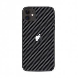 Sticker autoadeziv tip protectie pentru iphone 11, negru