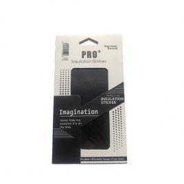 Sticker autoadeziv tip protectie pentru iphone 11 pro max, negru