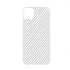 Sticker autoadeziv tip protectie pentru iphone 11 pro max, transparent