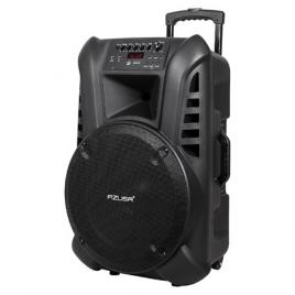 Sistem portabil bluetooth 120w, radio fm, usb, sd, 2 microfoane wirelles