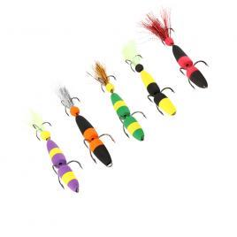 Set 5 Mandula pescuit vreme rece la salau stiuca biban Model 1