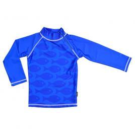 Tricou de baie fish blue marime 122-128 protectie uv swimpy