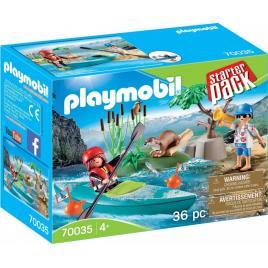 Set aventura cu caiac playmobil