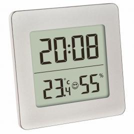 Termometru si higrometru digital cu ceas si alarma tfa 30.5038.54