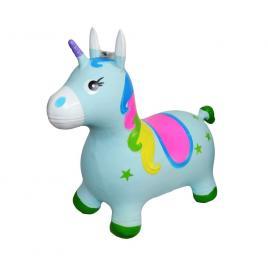 Unicorn din cauciuc gonflabil cu lumina si muzica