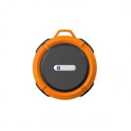 Boxa portabila, rezistenta la apa, cu ventuza, portocaliu, gonga