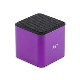Boxa portabila wireless kitsound, microfon, usb, violet
