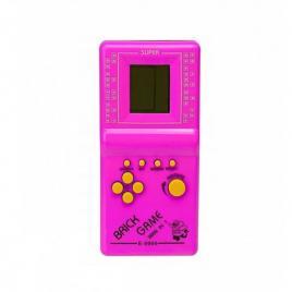 Consola de joc tetris, 9999 in 1, roz