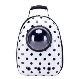 Rucsac transport animale de companie, tip capsula, impermeabil dalmatian