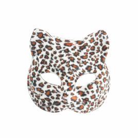 Masca carnaval venetian model pisicuta, leopard