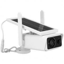 Camera de supraveghere ip wireless de exterior cu panou solar sm25