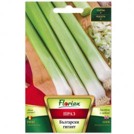 Seminte de praz gigant bulgar, florian, 50  grame