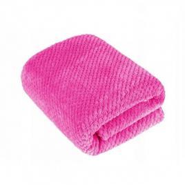 Patura calduroasa din microfibre, 150 x 200 cm roz