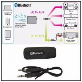 Adaptor Bluetooth Cu USB Si Jack 3.5 mm. Pentru Device-urile Fara Conexiune Bluetooth