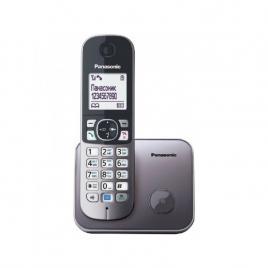 Telefon DECT Panasonic KX-TG6811FXM, Caller ID, Metalic