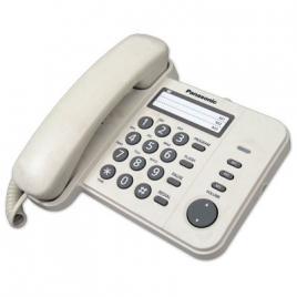 Telefon Panasonic KX-TS520FXJ, cu fir, Bej