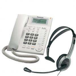 Telefon Panasonic KX-TS880FXW + Casca Panasonic RP-TCA430E-S