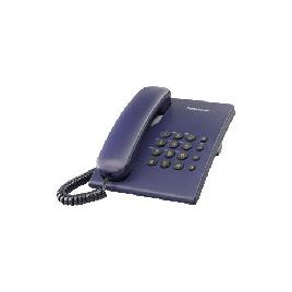 Telefon analogic Panasonic KX-TS500FXC, albastru