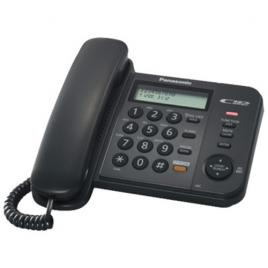 Telefon analogic Panasonic KX-TS580FXB, Caller ID, Negru
