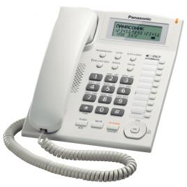 Telefon analogic Panasonic KX-TS880FXW, Caller ID, Alb