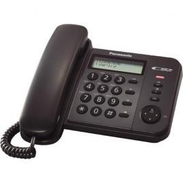 Telefon cu fir Panasonic KX-TS560FXB, Caller ID, Negru